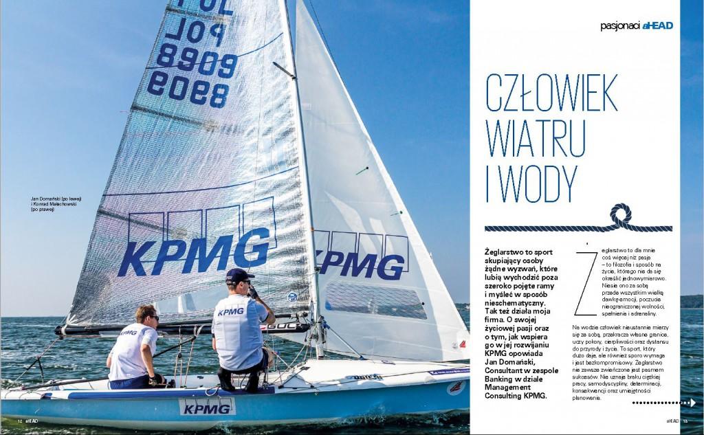 Człowiek wiatru i wody, Wywiad z Janem Domański, sternikiem Domanski Sailing Team