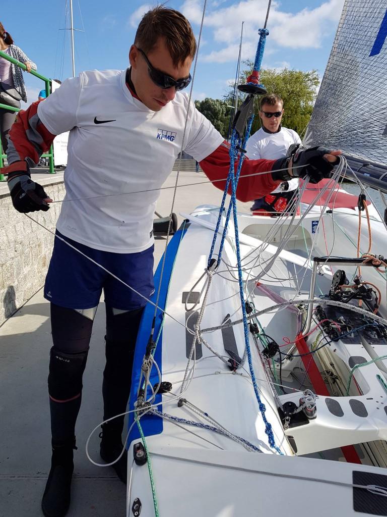 Zdjęcie KPMG Sailing Team, Regaty o Pucki Puchar klasy 505, Krynica Morska 2017