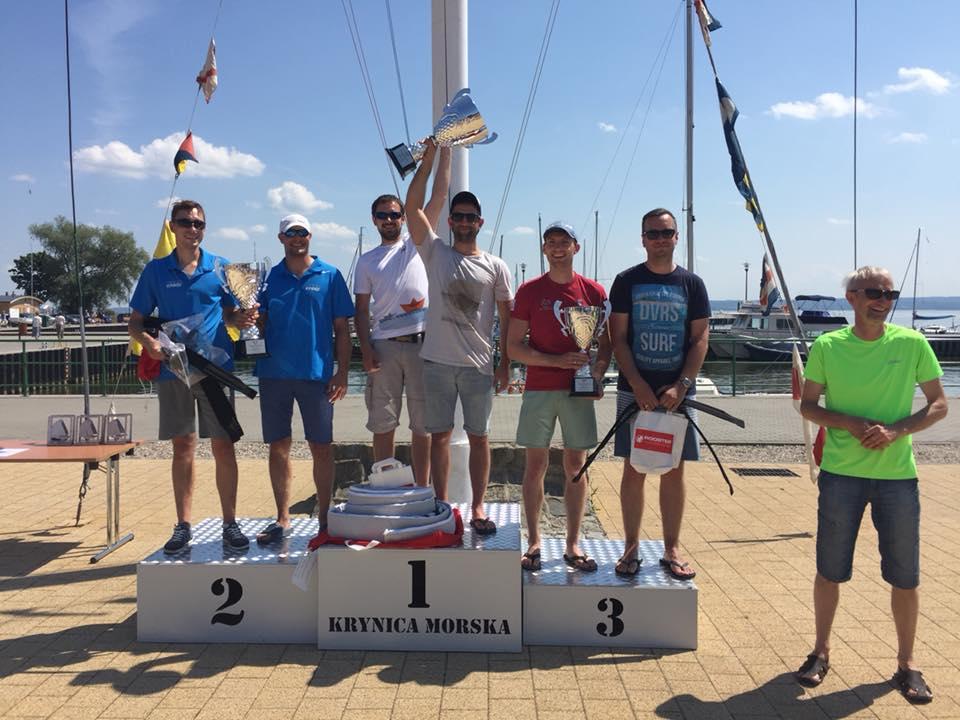 Zdjęcie KPMG Sailing Team, Regaty o Puchar Burmistrza Miasta Krynica Morska w klasie 505, Krynica Morska 2018