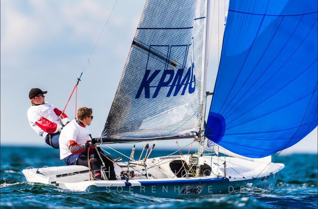 Zdjęcie KPMG Sailing Team, Regaty o Mistrzostwo Europy w klasie 505, Warnemunde 2017. Fot. Soeren Hesse